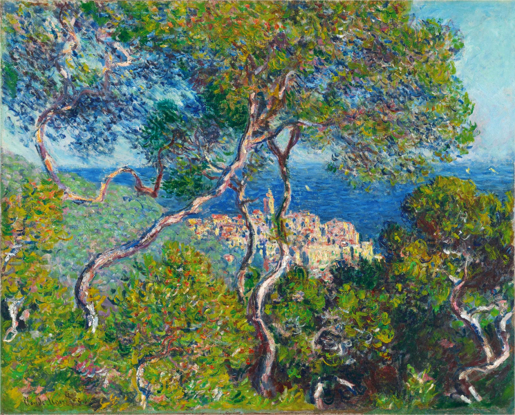 Claude Monet - Bordighera, oil on canvas