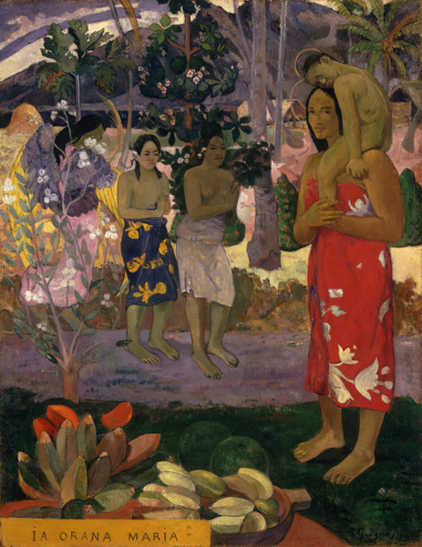 Paul Gauguin - Ia Orana Maria (Hail Mary)