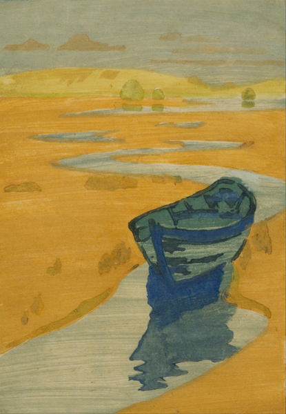 Arthur Wesley Dow - The Derelict (The Lost Boat)  1857–1922