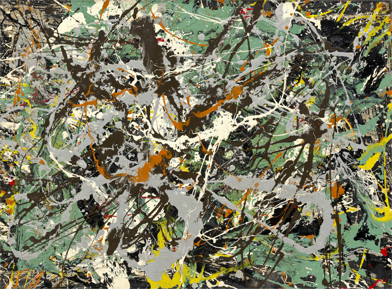 Jackson Pollock - Untitled (Green Silver)
