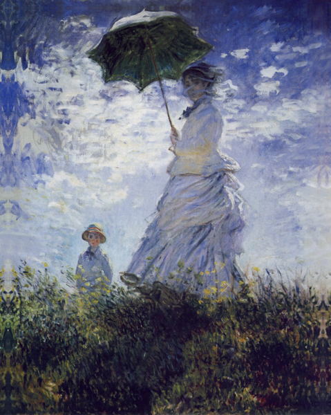 Claude Monet - Women with umbrella