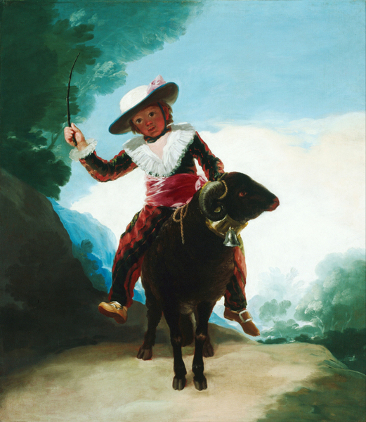 Francisco Goya - Boy on a Ram