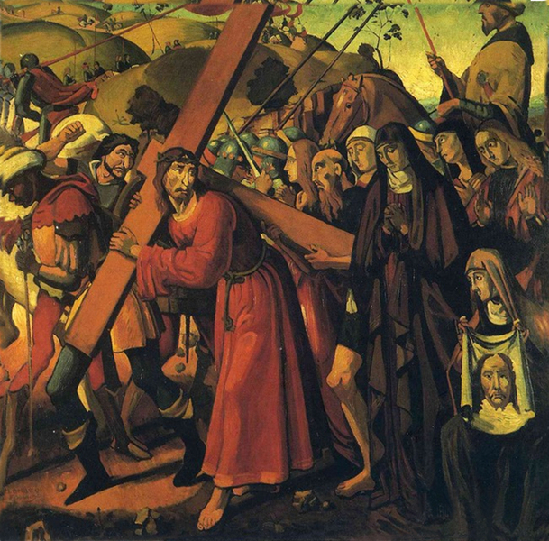 Andre Derain - The Road to Calvary