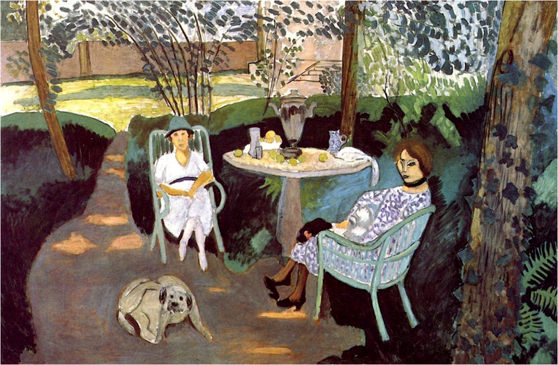Henri Matisse - Tea in the Garden 1919