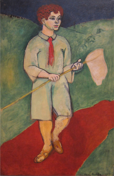 Henri Matisse(1869 –1954) - Boy with Butterfly Net, 1907