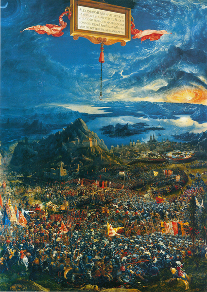 Albrecht Altdorfer - Battle of Issus