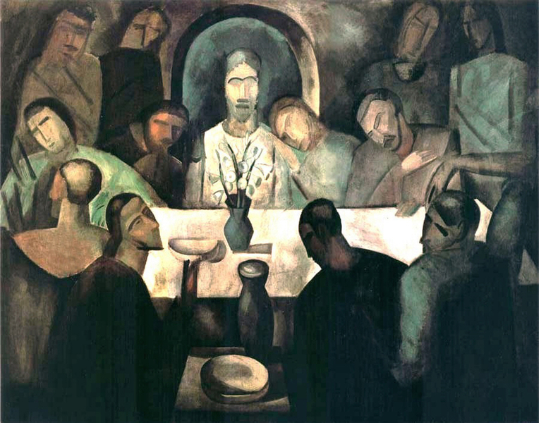 André Derain - The Last Supper