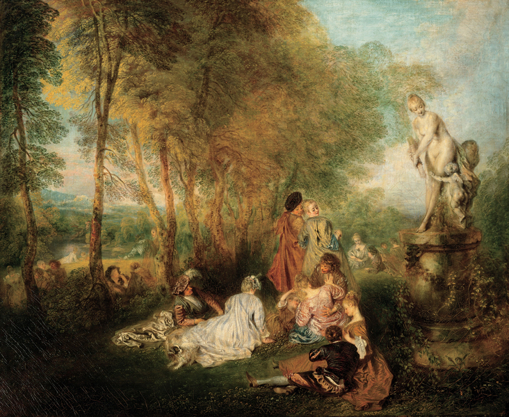 Antoine Watteau - The Feast of Love