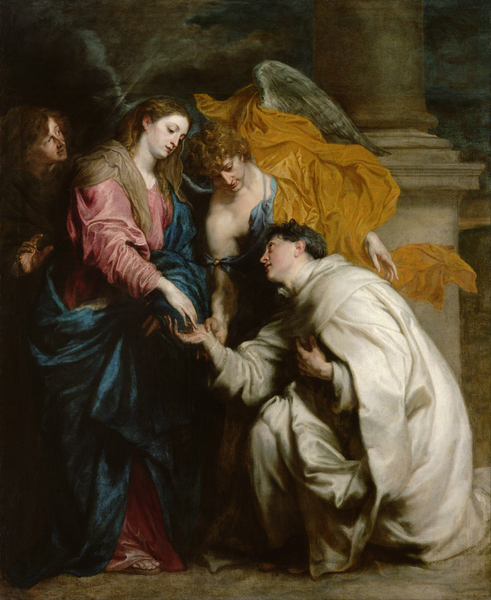 Anton van Dyck - The Vision of the Blessed Hermann Joseph